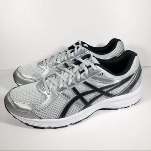 NEW Asics Jolt Sneakers - Light Grey/Silver/Black